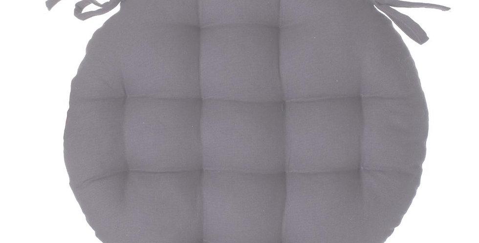 Atmosphera Stoelkussen rond 38' grijs