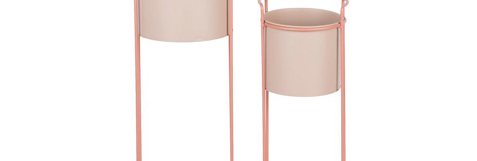 Cosy & Trendy Plantenbak Roze Set van 2