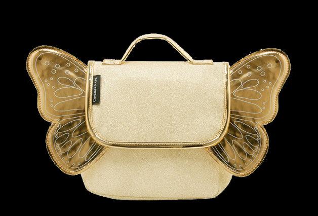 Caramel & Cie Kleuterboekentas Met Vleugels Goud