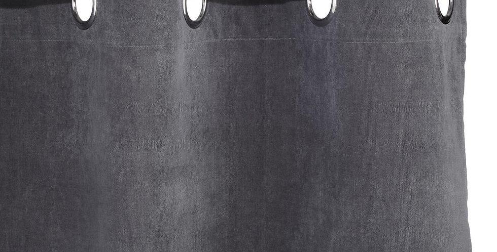 Atmosphera Memo gordijnen 140' X 260' donker grijs