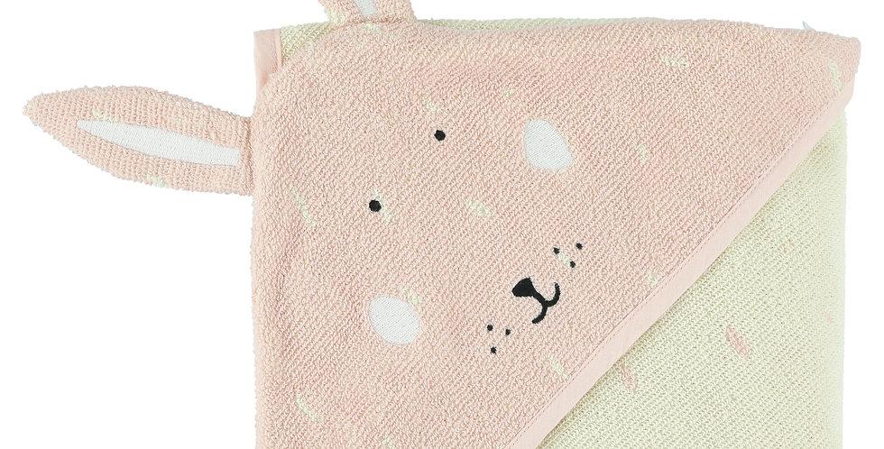 Trixie Baby Handdoek Met Kap 75x75cm Mrs. Rabbit