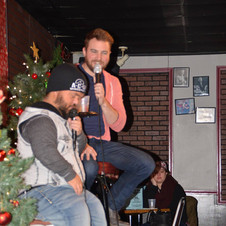 Performing comedy with former WWE Superstar Swoggle