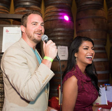 Hosting charity event for WAGS4Kids with Homa Bash of WEWS Channel 5 in Cleveland