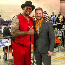 """With WWE Hall of Famer """"The Godfather"""""""