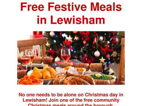 Community Connection Lewisham Free Christmas Meals