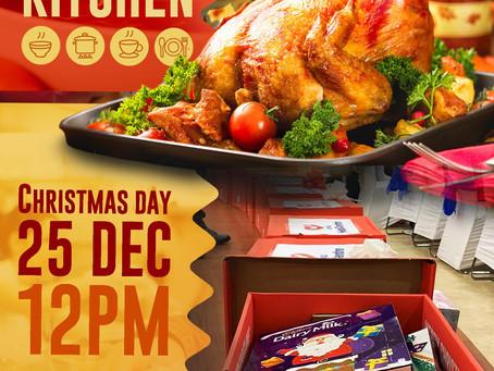 Soup Kitchen Christmas Day 12pm