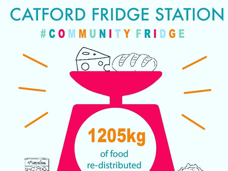 Catford Community Fridge is up and running.
