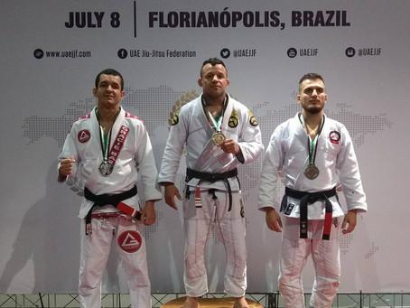Atleta Lucas Flores Vice Campeão da etapa Abu Dhabi de Jiu Jitsu em Florianópolis