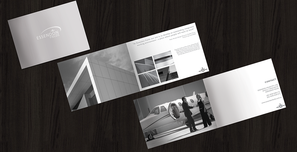 Essendon Fields Brochure Design