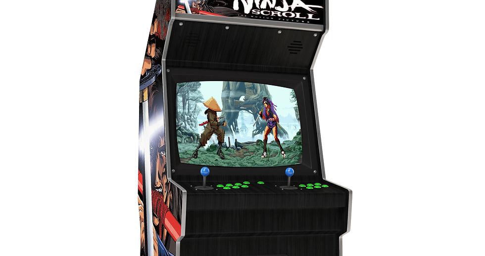TITLE.20th Anniversary Ninja Scroll Coin Op