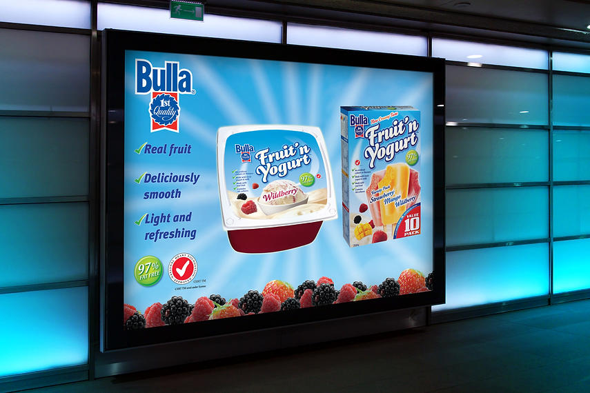 Bulla Fruit n Yoghurt Shopalite