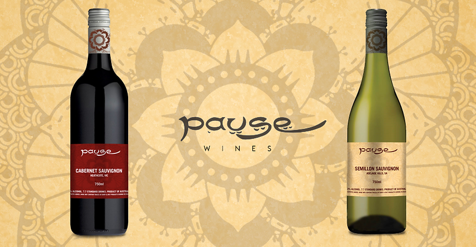 Pause Bar Wine Labels