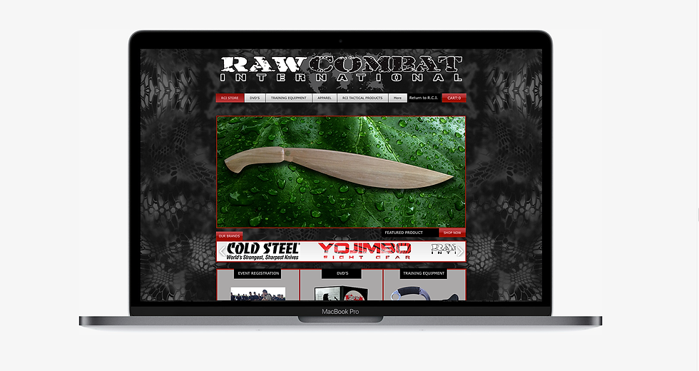 RAW Combat International Store