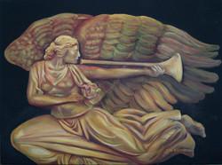 #377 angel sculpture