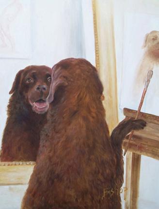 #261 Dog Artist