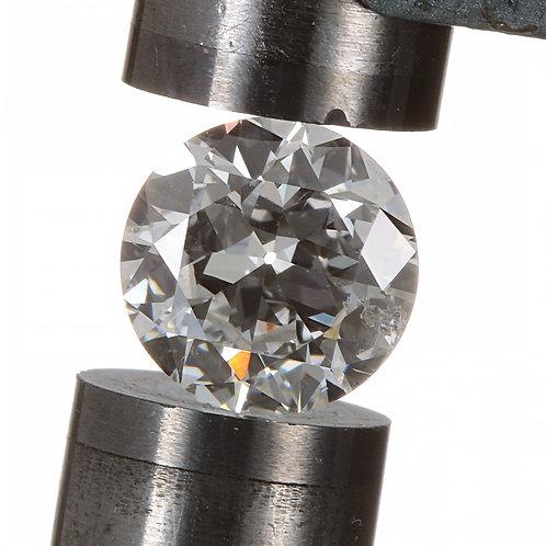 Old European cut Diamond .70ct GIA H i1 5.84-5.86mm. AKA Early round brilliant cut diamond.