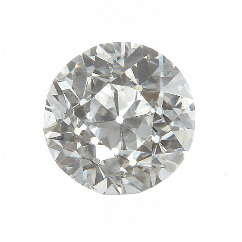 Old European cut Diamond .35 GIA  F VS2. AKA Early round brilliant cut.