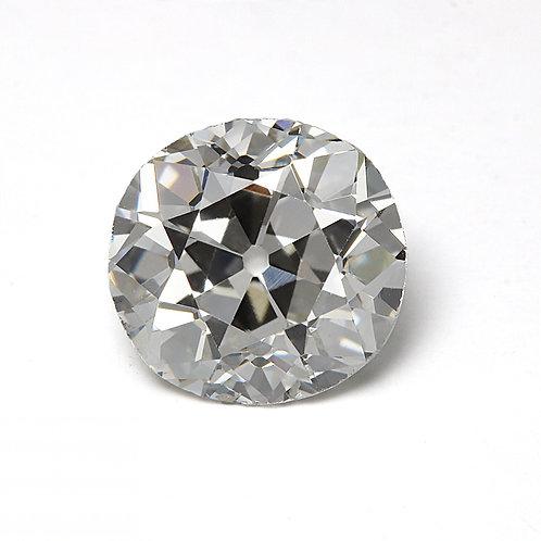 Old European cut Diamond 1.31 GIA H VS2 6.54-6.93mm. AKA Early round brilliant cut diamond.