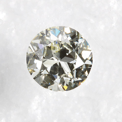 Old European cut Diamond .73ct GIA M VS1 5.78-5.89mm. AKA Early round brilliant cut diamond.