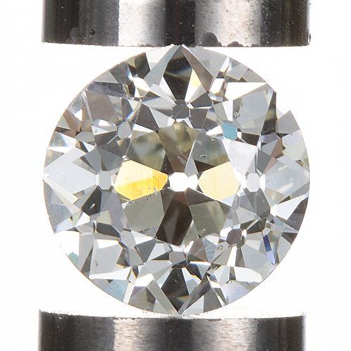 Old European cut Diamond 1.02ct GIA L Si1 6.14-6.28mm. AKA Early round brilliant cut diamond.