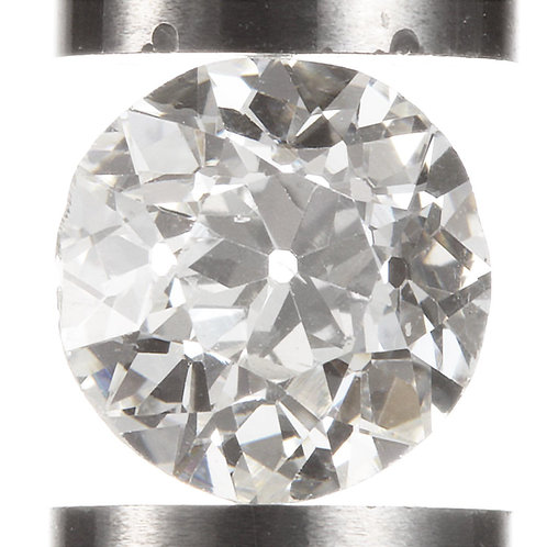 Old European cut Diamond .84ct GIA H Si1 5.9-6.05mm. AKA Early round brilliant.