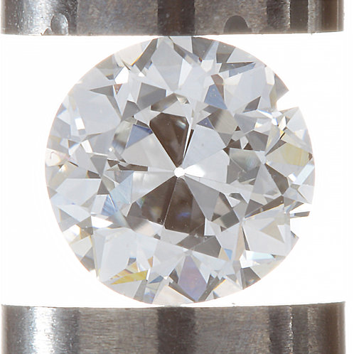 Old European cut Diamond .48ct GIA F VS1 4.83-4.94mm. AKA early round brilliant.