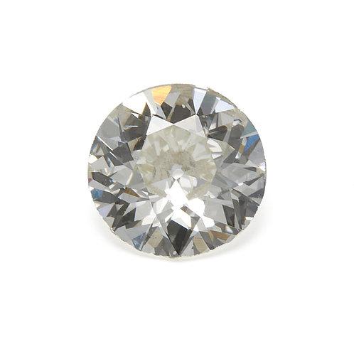 Old European cut Diamond .70ct GIA J VS2 5.84-5.9mm. AKA Early round brilliant cut diamond.