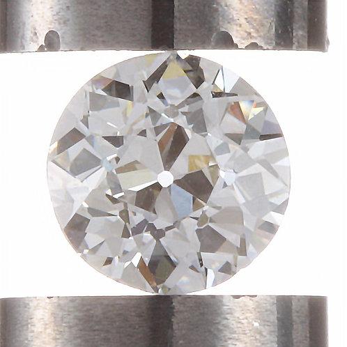Old European cut Diamond .39ct GIA i VS1 4.50-4.61mm. AKA Early round brilliant cut diamond.