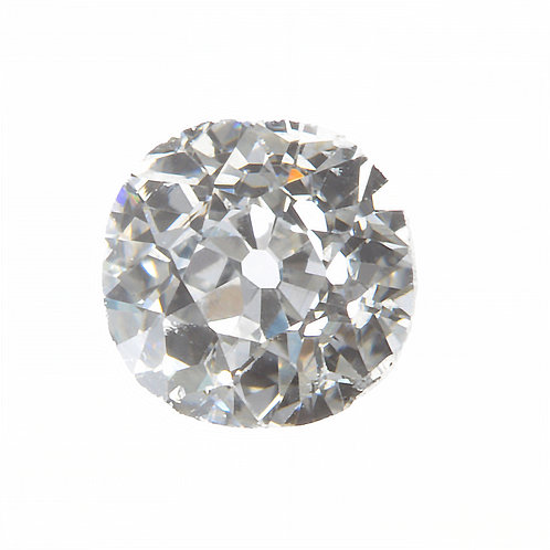 Old European cut Diamond .39 GIA  H Si1. AKA Early round brilliant cut.