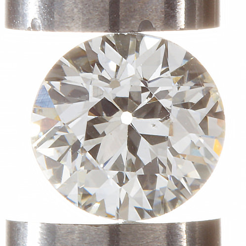 Old European cut Diamond .63ct GIA K VS2 5.42-5.62mm. AKA early round brilliant.