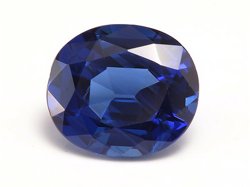 GIA. 0.95ct all natural Sapphire, unheated.