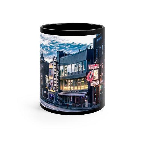 Nashville Black mug 11oz