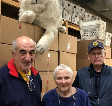 Haddonfield Area Lions Help with Eyeglass Recycling