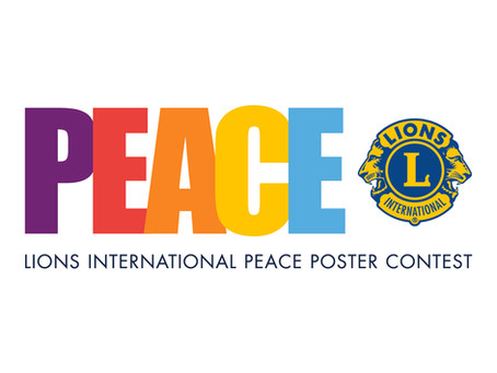 Lions Club Picks Peace Poster Contest Winners