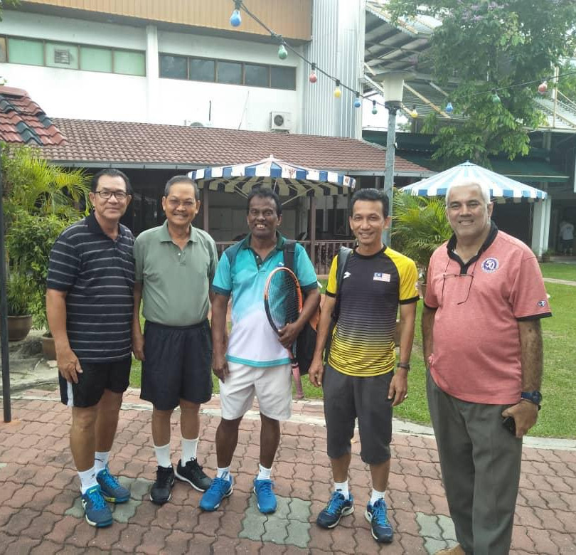Visit by ITF Coaching Course Conductors.