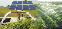 2.5 kw off grid solar power and wheel pump installation project