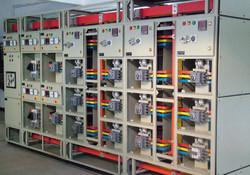 Breaker and switch gear installation, Alberta, Canada