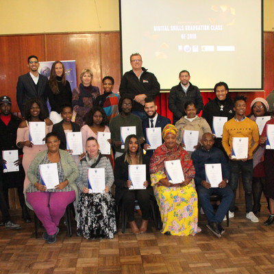 The Western Cape CoLab and Suff Academy celebrates success at June 2019 graduation ceremony