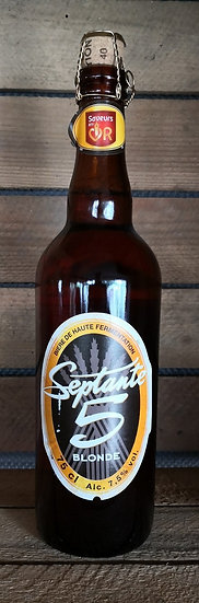 Septante 5 Blonde 7,5° - bouteille de 75cl
