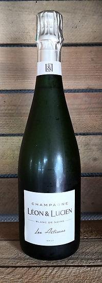 Champagne Brut AOP 75 cl Léon et Lucien, blanc de noir