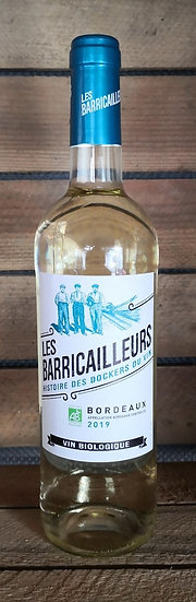Les Barricailleurs AOP Bordeaux Blanc  75 cl