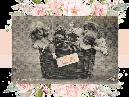 Очарование старинных кукол. Выставка кукол в Тель-Авиве