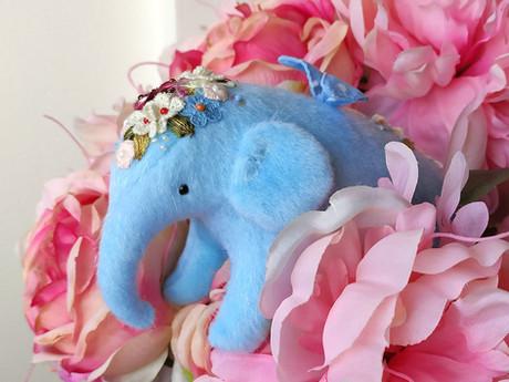 Краткая история Хотьковской игрушки. Необычный слон