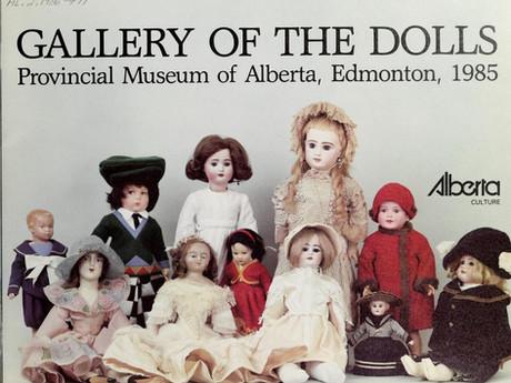 Gallery of the dolls: Provincial Museum of Alberta, Edmonton