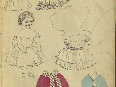 Книга Paper Dolls and How to Make Them, A Book for Little Girls