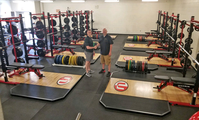 CHECK OUT TWO NEW WEST VIRGINIA HIGH SCHOOL FITNESS ROOMS!