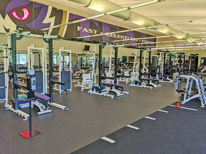 NEW ADDITIONS FOR THE BALTIMORE RAVENS' GYM