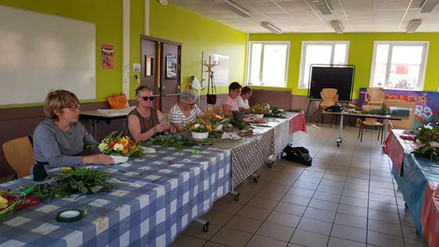 """Atelier centre social des Sablons au Mans """"le Kaléidoscope"""""""