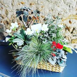 Composition de plantes pour un deuil