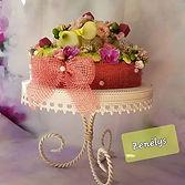 Un gâteau à déguster avec les yeux
